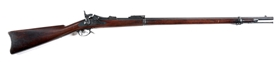 (A) SPRINGFIELD 1884 TRAPDOOR SINGLE SHOT RIFLE.