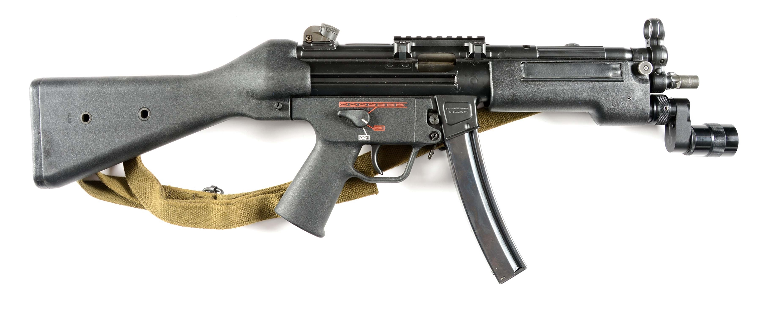 (N) H&K MP5A2 MACHINE GUN (PRE-86 DEALER SAMPLE).