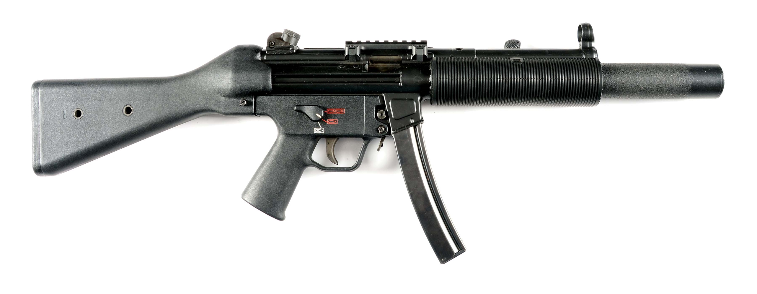 (N) H&K MP5SDA2 MACHINE GUN (PRE-86 DEALER SAMPLE).
