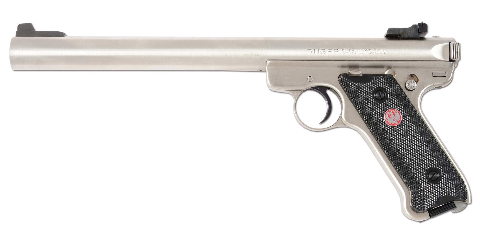 (N) RUGER MK II SEMI-AUTOMATIC PISTOL WITH GEMTECH QUANTUM SUPPRESSOR (SUPPRESSOR).
