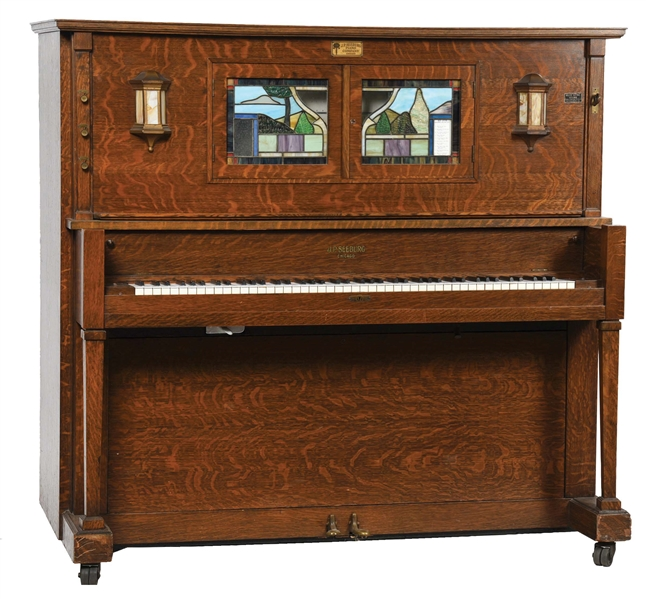 "SEEBURG STYLE ""E""-SPECIAL"" PLAYER PIANO."