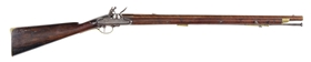 (A) A RARE FLINTLOCK RIFLED CARBINE BY NOCK WITH ENCLOSED LOCK, C. 1796.