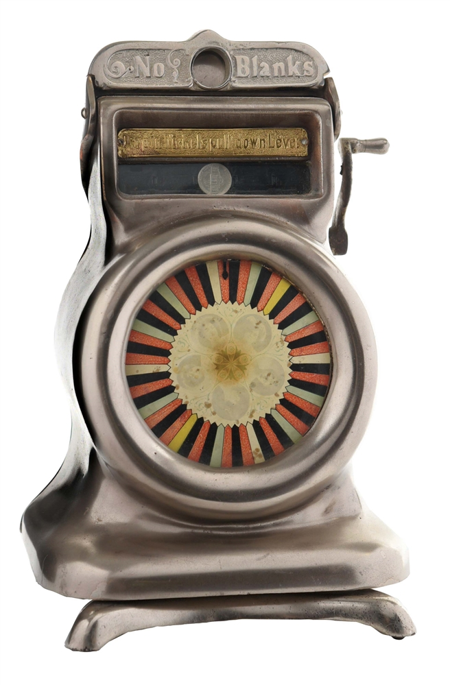 5¢ CAILLE WASP COUNTER WHEEL TRADE STIMULATOR.