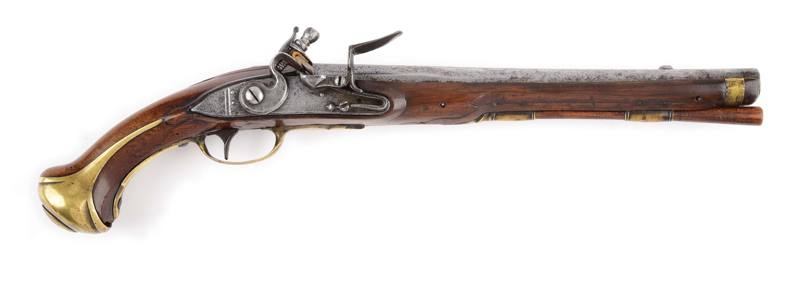 (A) RARE FRENCH MODEL 1733 CAVALRY OR DRAGOON PISTOL PRODUCED AT CHARLEVILLE.