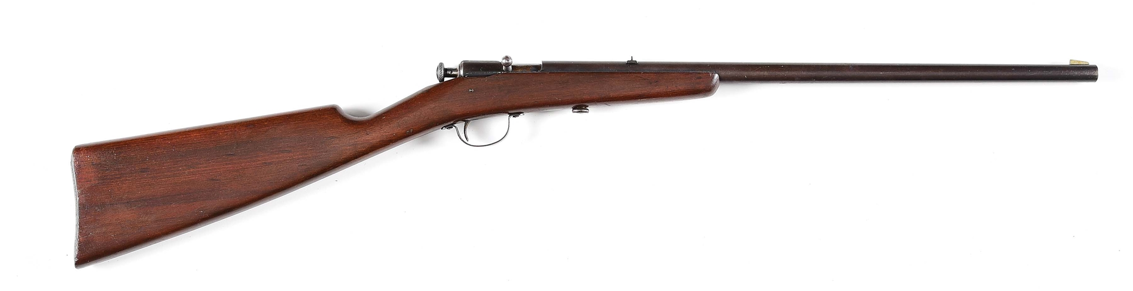 (A) WINCHESTER MODEL 58 .22 LR BOLT ACTION RIFLE.