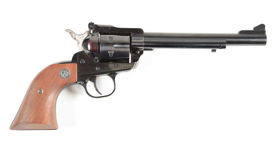 (M) RUGER SINGLE SIX .32 H&R MAGNUM SINGLE ACTION REVOLVER.