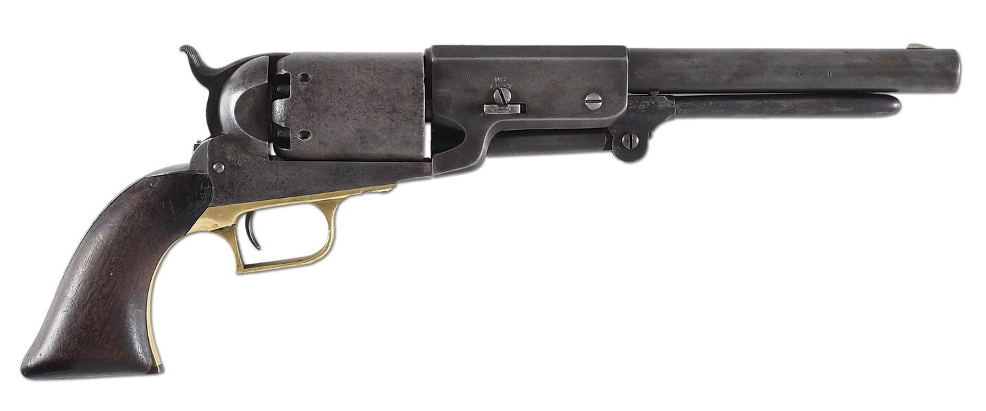 (A) RARE AND DESIRABLE MARTIALLY MARKED COLT WALKER REVOLVER IDENTIFIED TO B COMPANY NO. 49.