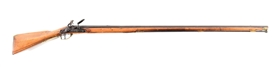 (A) EARLY AMERICAN RELIEF CARVED FLINTLOCK FOWLER, SHUMWAY RIFLE NO. 102.