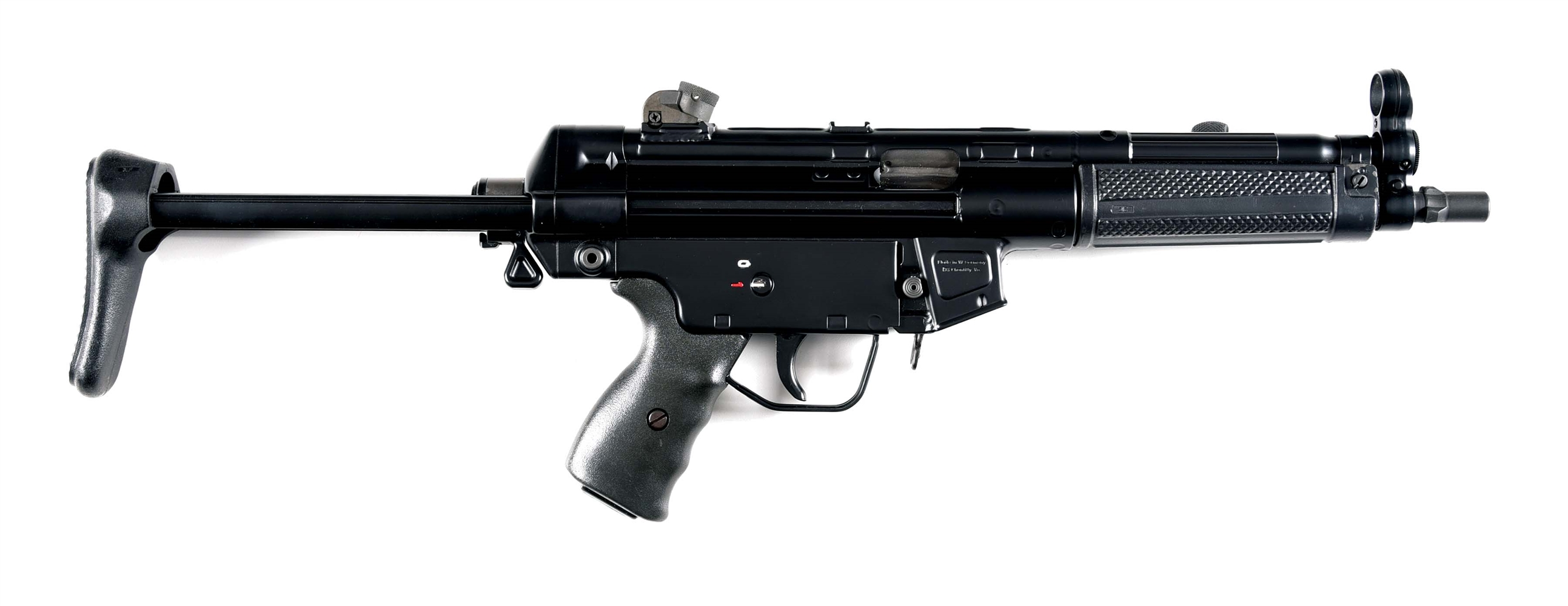 (N) CJM MACHINE HK MP5 SEMI-AUTOMATIC SHORT BARREL RIFLE (1985) (SHORT BARREL RIFLE).