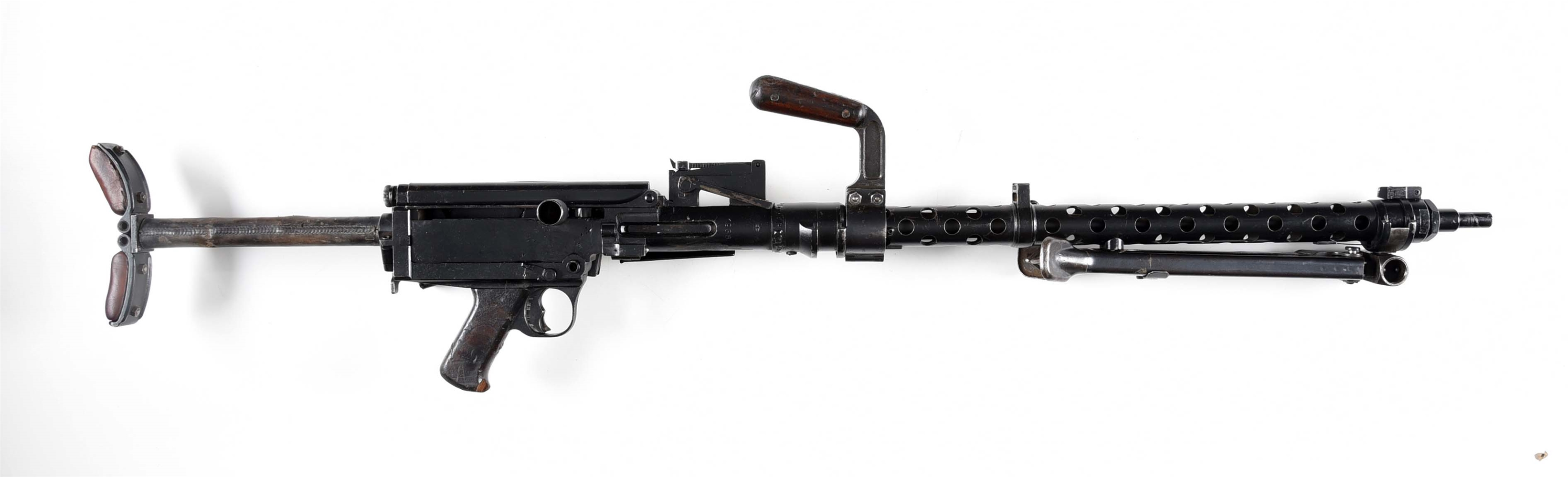 PORTUGUESE CONTRACT MG-13 DISPLAY MACHINE GUN.