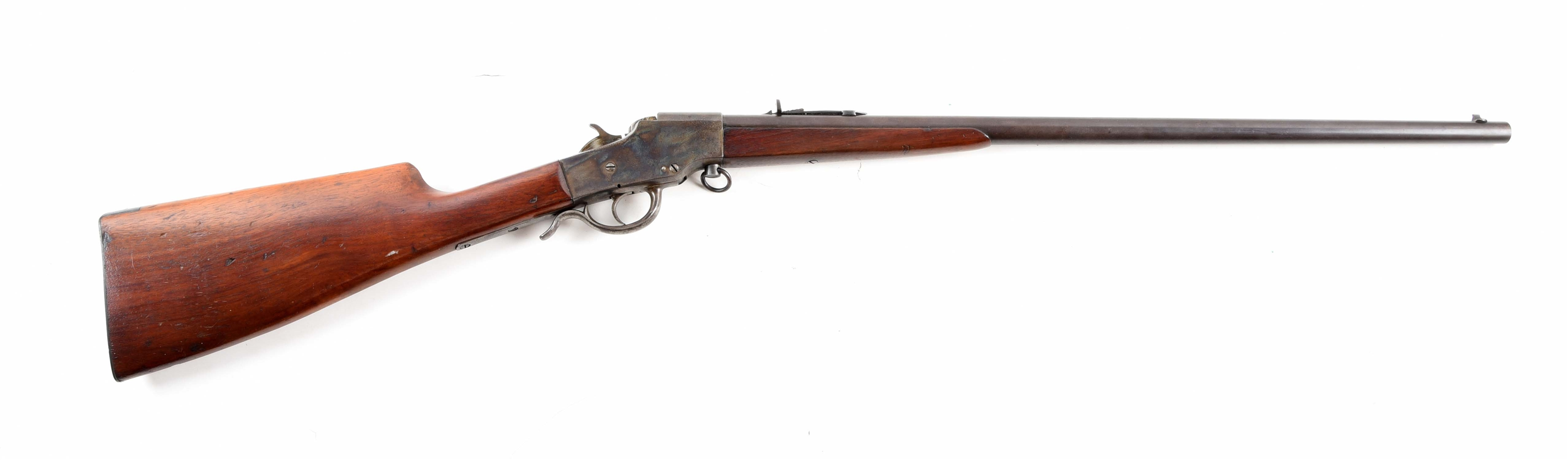 (C) HOPKINS & ALLEN NO. 925 FALLING BLOCK SINGLE SHOT RIFLE.