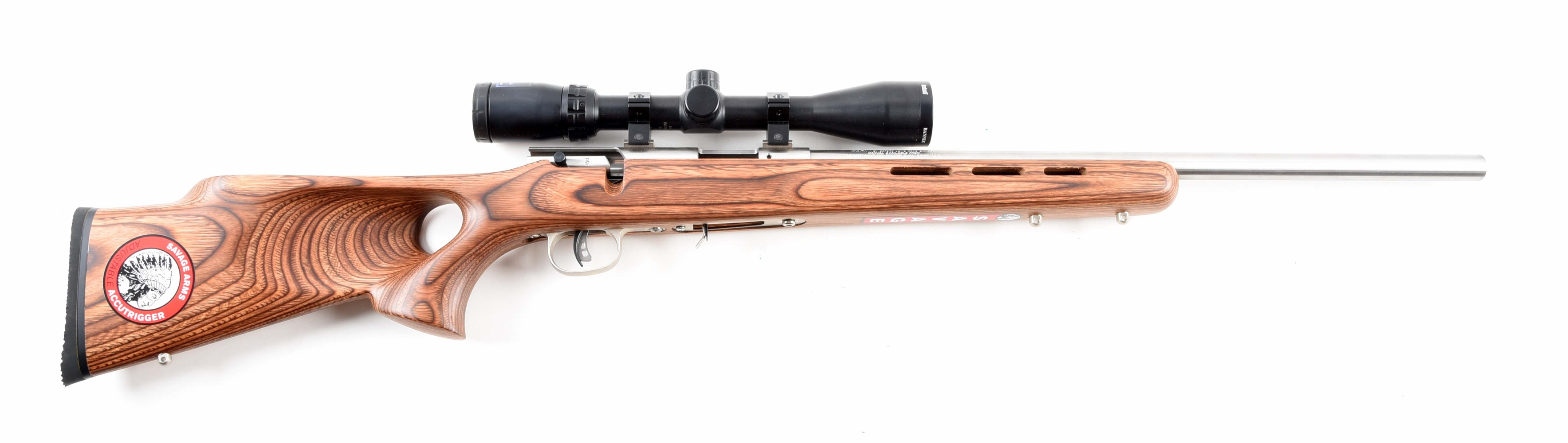 (M) NIB SAVAGE 93R17 BTVSS BOLT ACTION .17 HMR RIFLE.