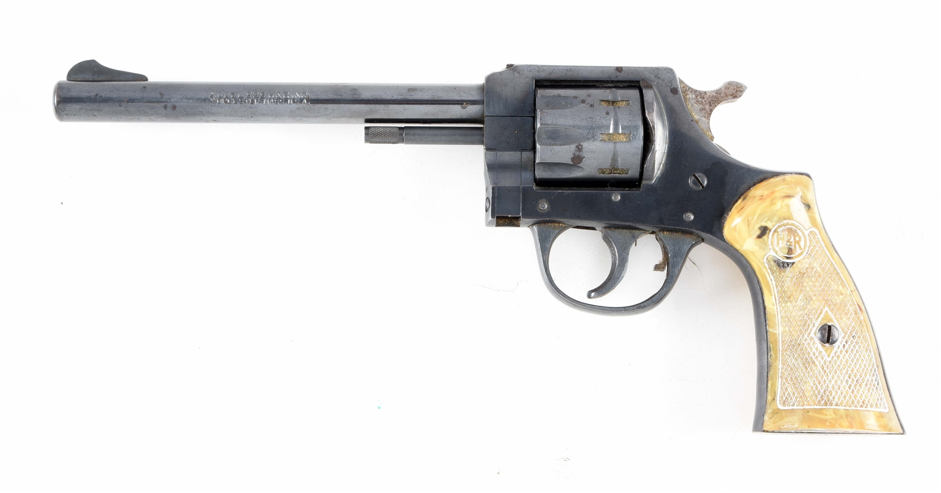 "(C) H&R MODEL 929 ""SIDE KICK"" DOUBLE ACTION .22 LR REVOLVER."