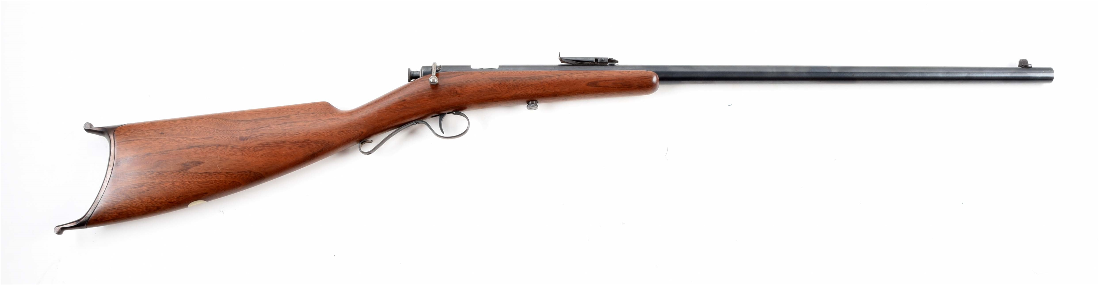 (C) SAVAGE MODEL 1905 SINGLE SHOT .22 LR BOLT ACTION RIFLE.
