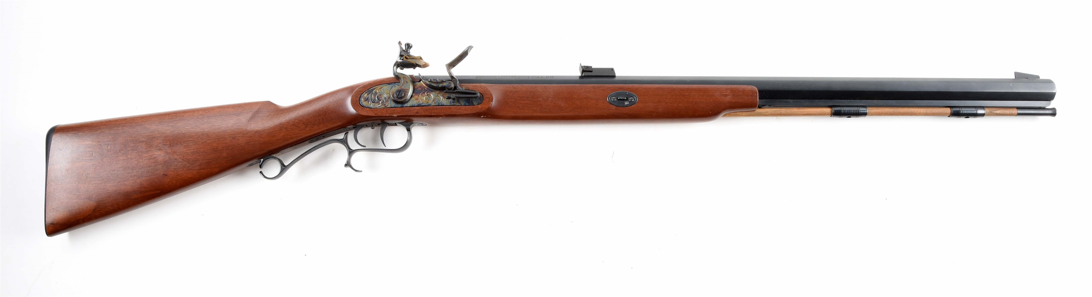 (A) THOMPSON CENTER FLINTLOCK RIFLE.
