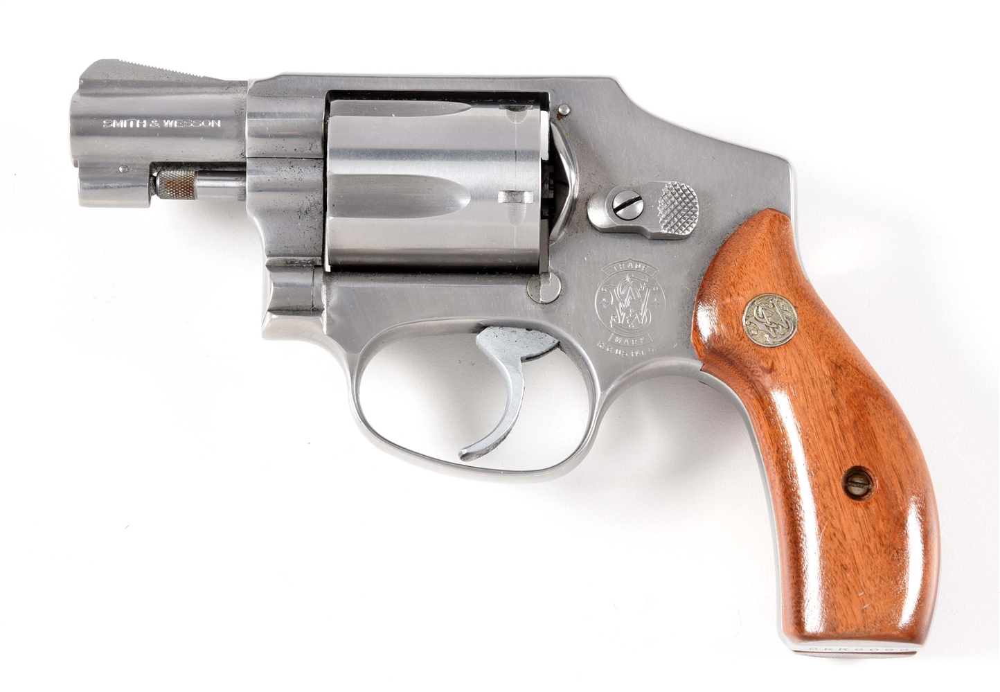 (M) SMITH & WESSON MODEL 640 DOUBLE ACTION REVOLVER.