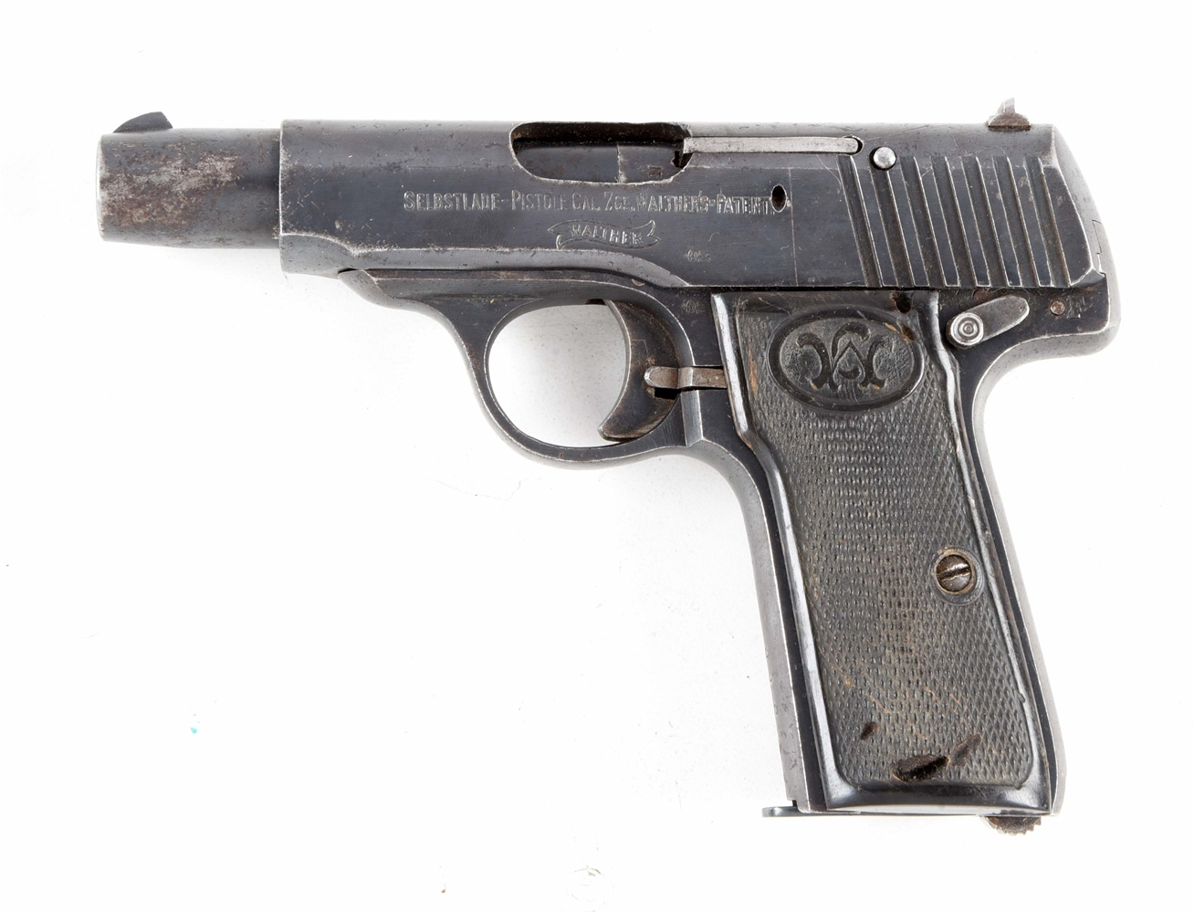 (C) WWI ERA WALTHER NO. 4 SEMI-AUTOMATIC .32 ACP PISTOL.