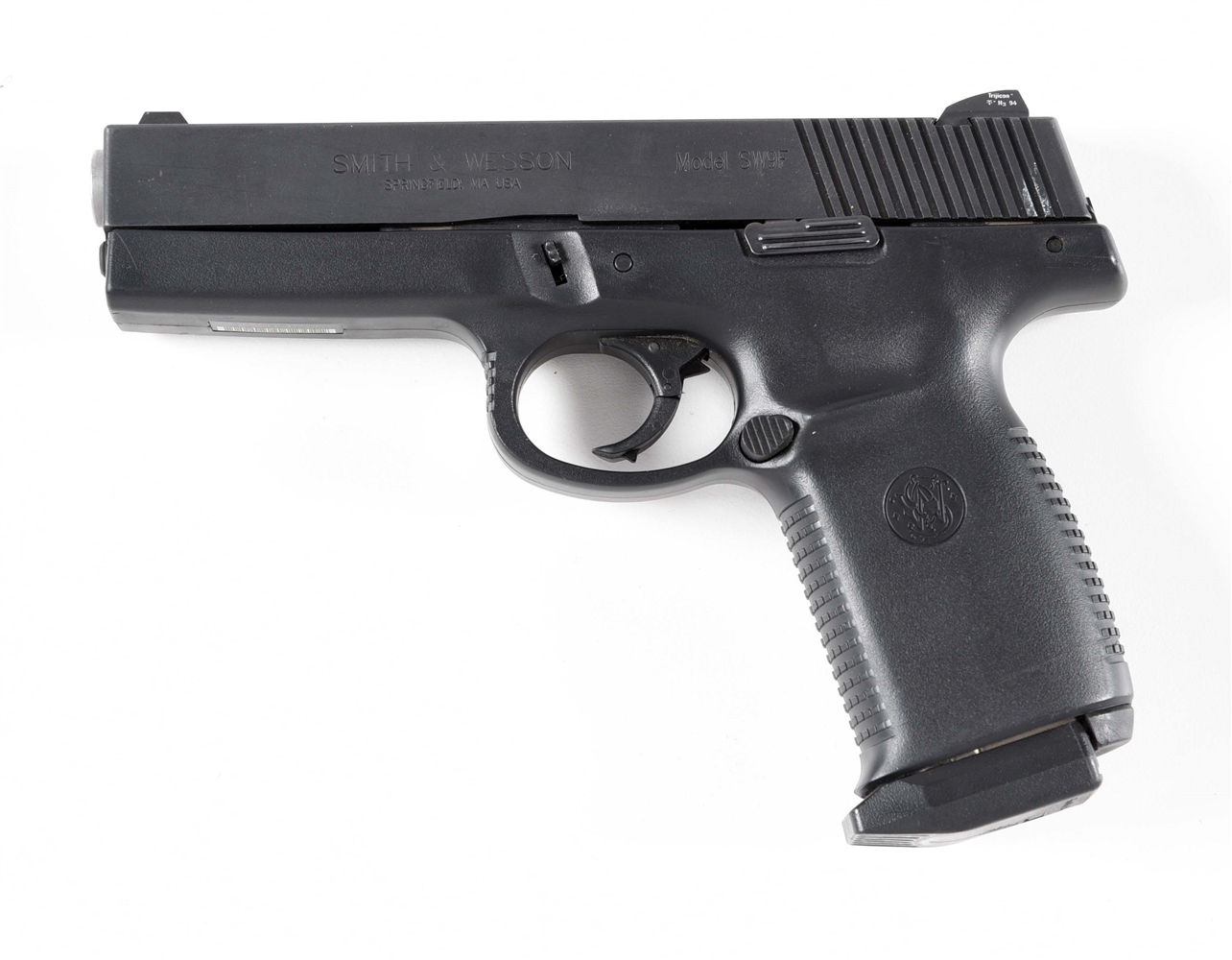 (M) SMITH & WESSON SW9F SEMI-AUTOMATIC PISTOL.