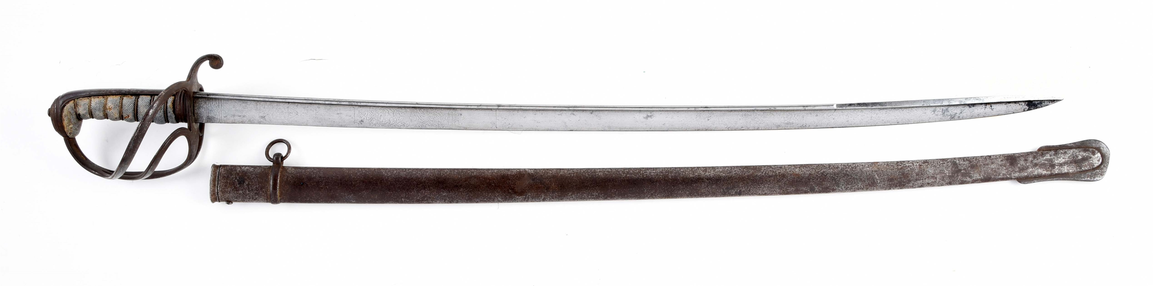 TATHAM 1821 PATTERN PIPEBACK LIGHT CAVALRY SABER MARKED FOR CAPE CAVALRY RIFLEMAN.