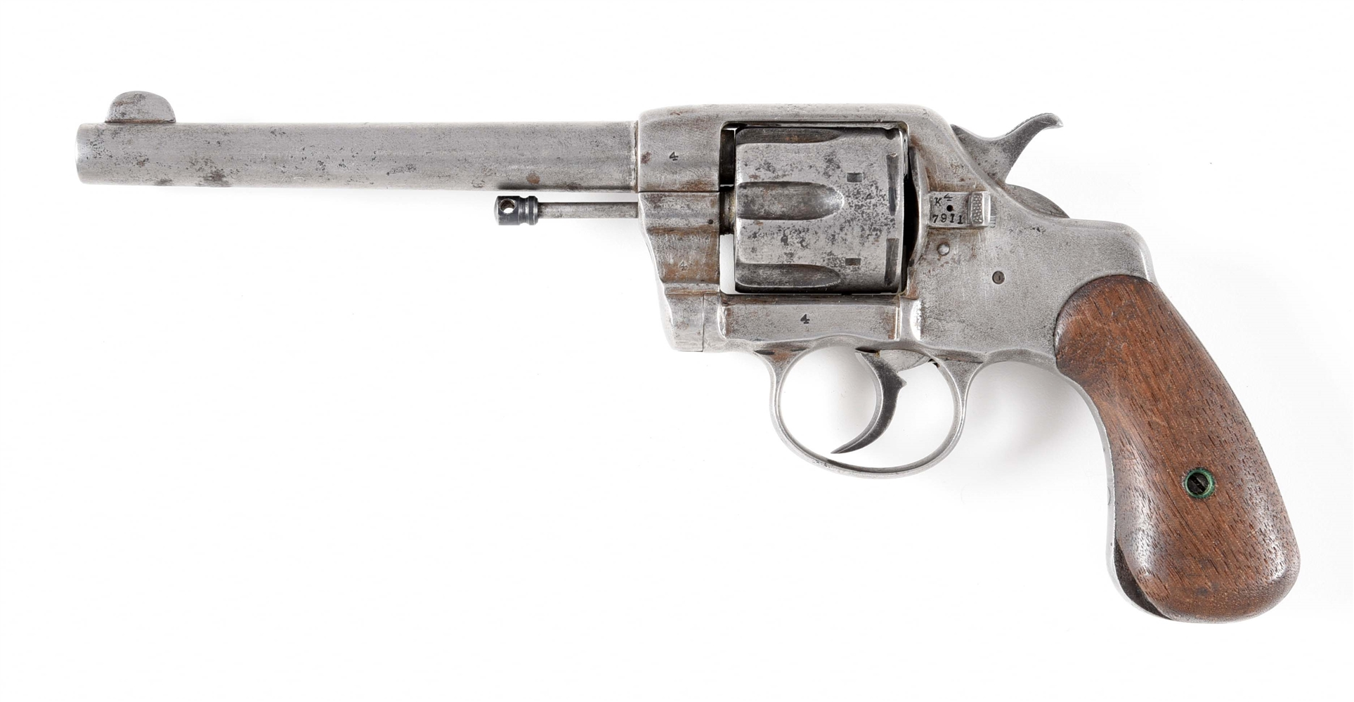 (A) FIRST YEAR COLT NEW ARMY MODEL MODEL 1892 DOUBLE ACTION REVOLVER.