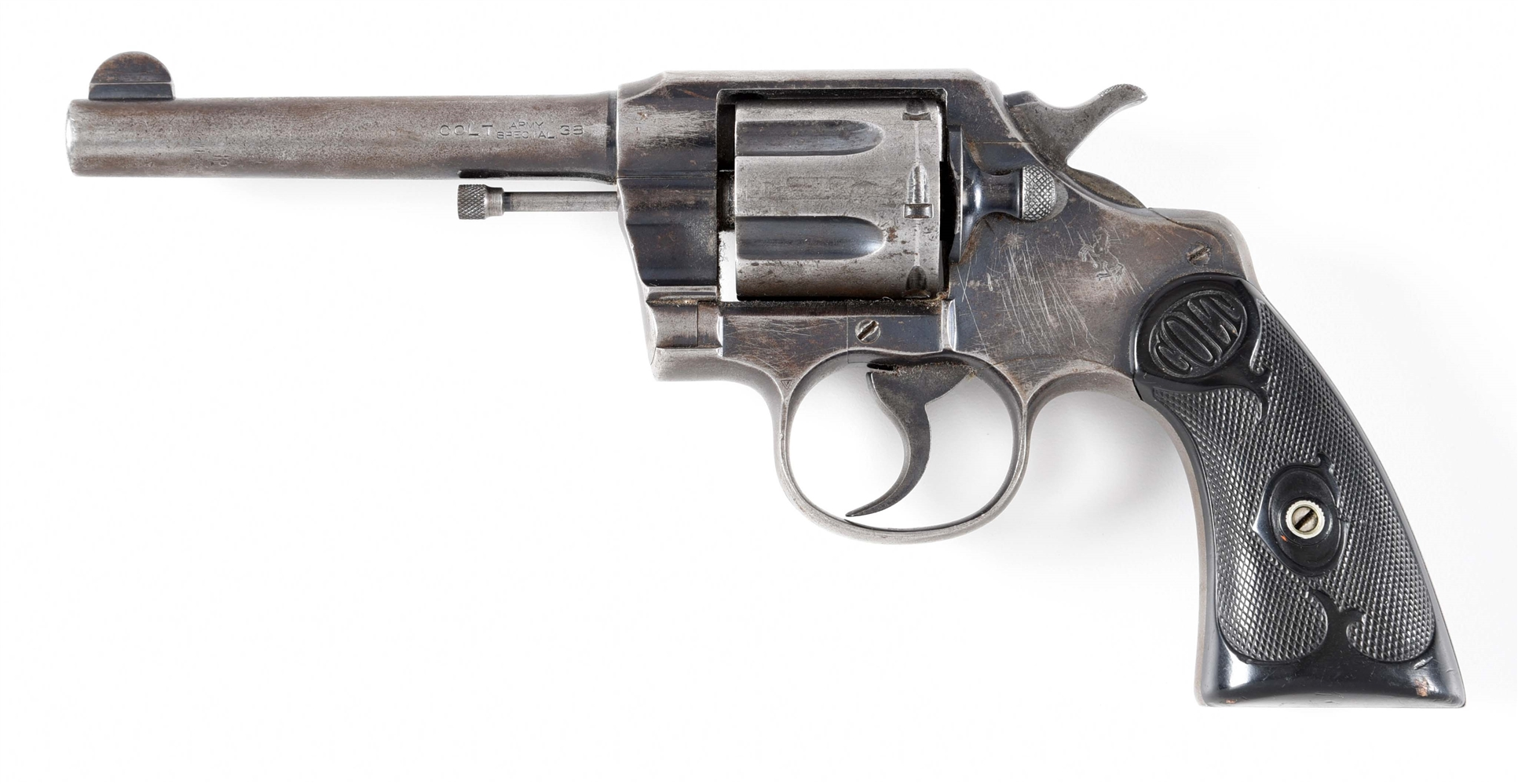 (C) COLT ARMY SPECIAL DOUBLE ACTION .38 REVOLVER.