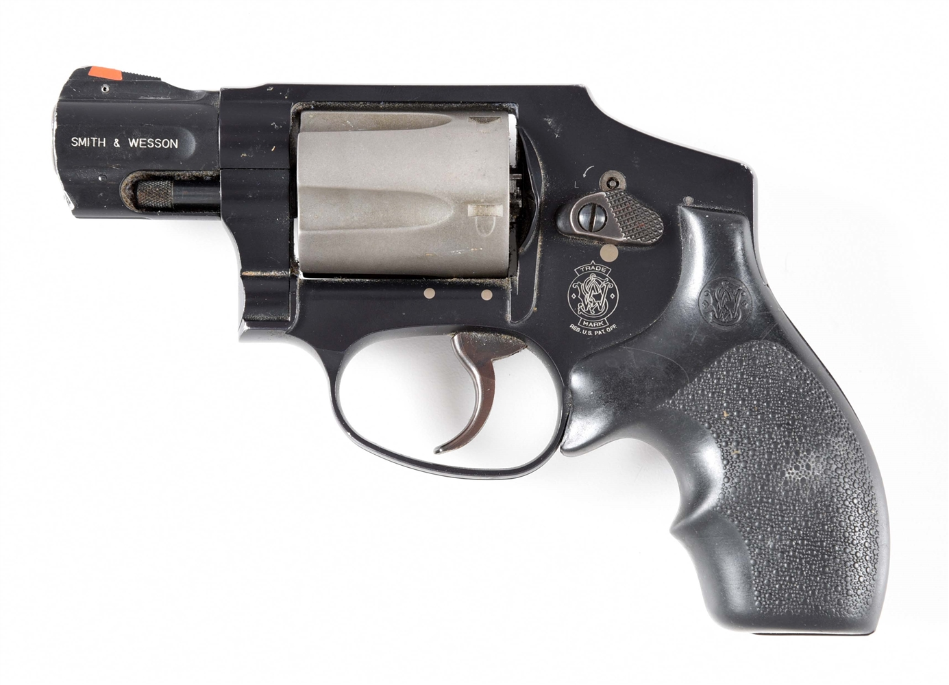 (M) SMITH & WESSON MODEL 342-1 AIRLITE DOUBLE ACTION .38 REVOLVER.