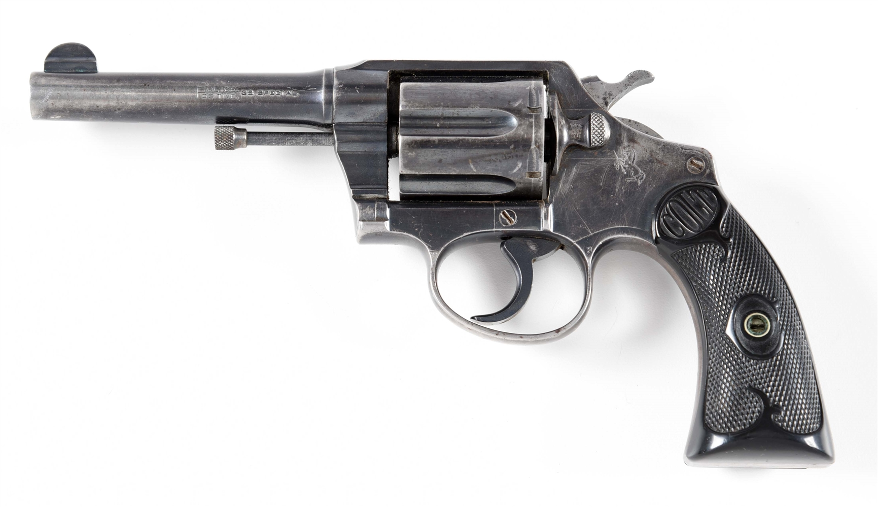 (C) COLT POLICE POSITIVE .38 DOUBLE ACTION REVOLVER.