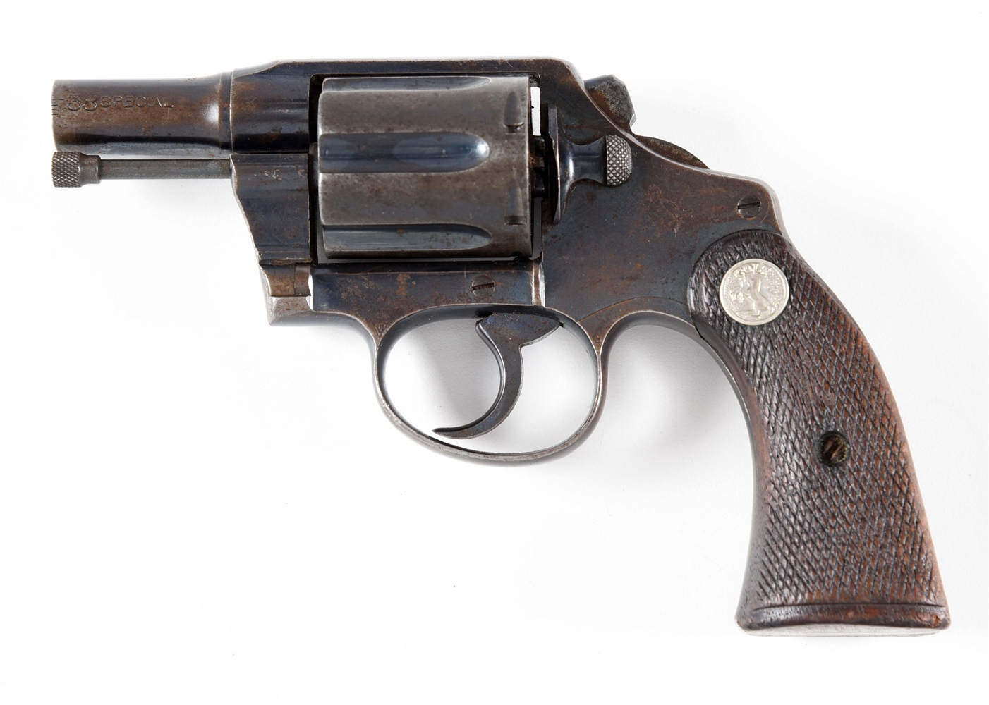 (C) COLT POLICE POSITIVE SPECIAL DOUBLE ACTION .38 REVOLVER.