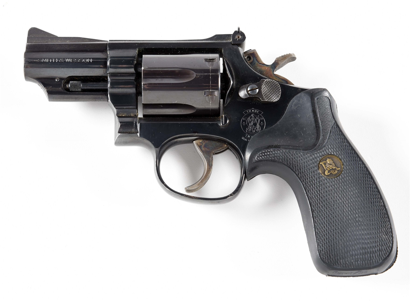 (M) SMITH & WESSON MODEL 19-5 DOUBLE ACTION .357 MAGNUM REVOLVER.