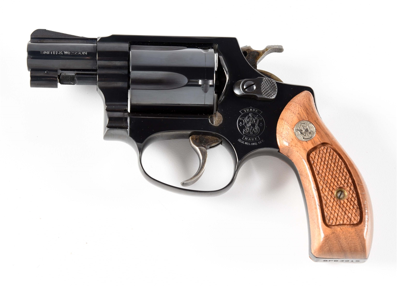(M) SMITH & WESSON MODEL 36-7 CHIEFS SPECIAL DOUBLE ACTION .38 REVOLVER.