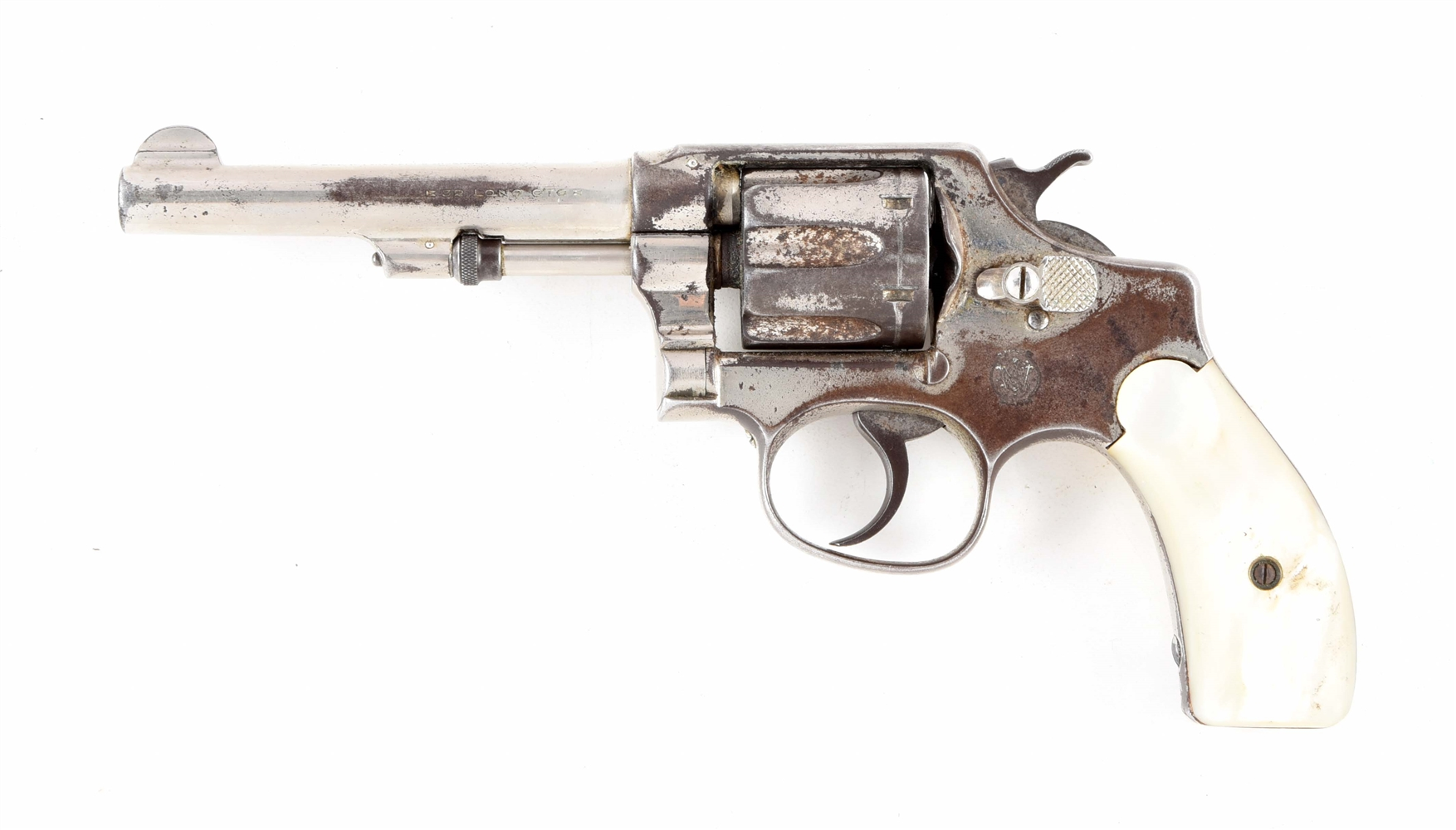 (C) SMITH & WESSON DOUBLE ACTION .32 REVOLVER.