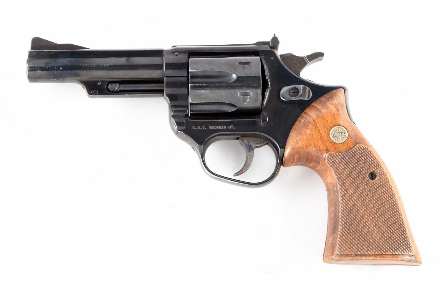 (M) ASTRA MODEL 960 DOUBLE ACTION .38 REVOLVER.