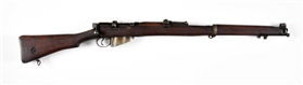 (C) 1918 DATED BRITISH ENFIELD NO. I MK III BOLT ACTION DRILL PURPOSE RIFLE.