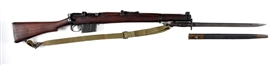 (C) ISHAPORE 1967 DATED 2A1 BOLT ACTION RIFLE WITH BAYONET.