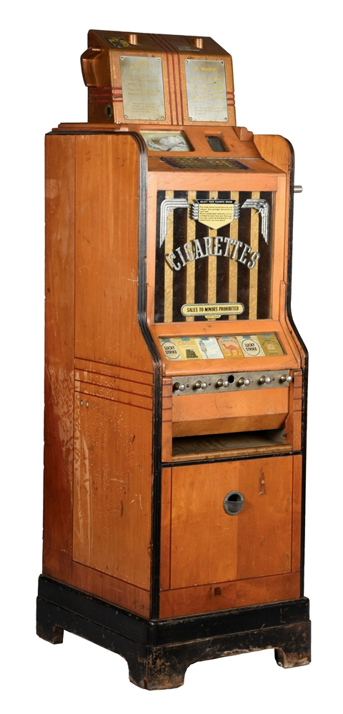 CIGARETTE SLOT MACHINE.