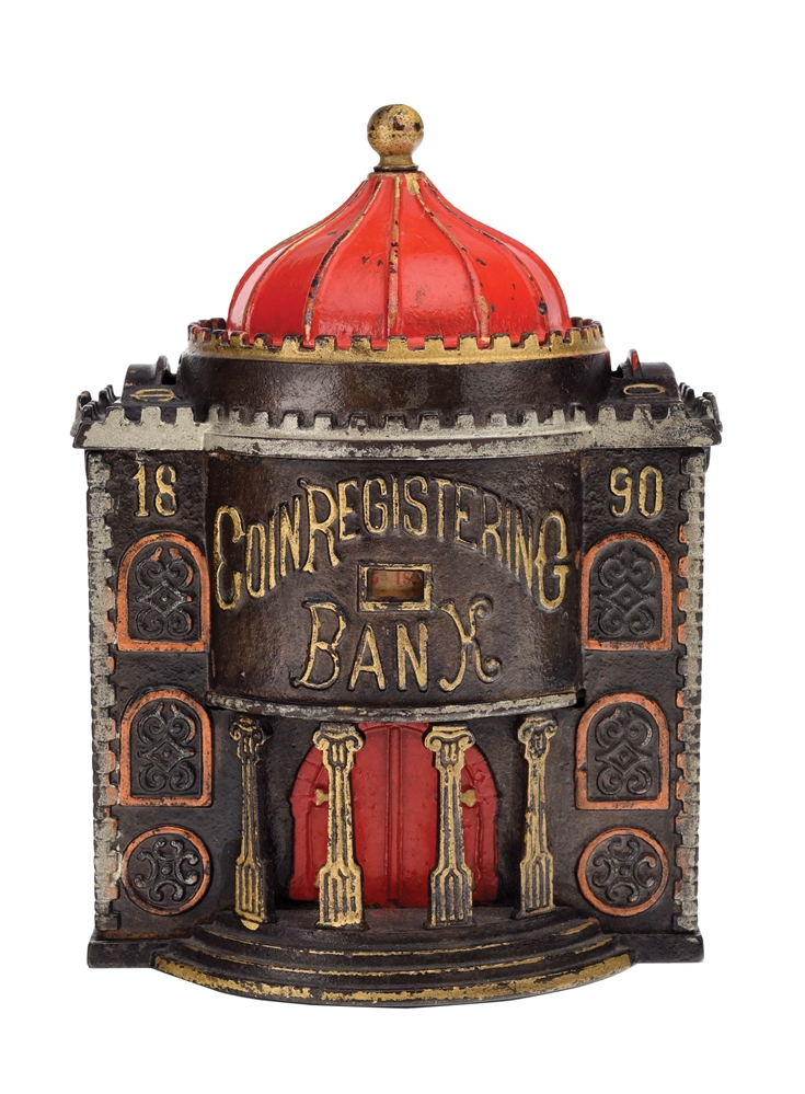 COIN REGISTERING BANK - 1890.