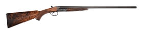 (M) CASED VERNEY-CARRON FUSIL DOUBLE 20 BORE SIDE BY SIDE SHOTGUN