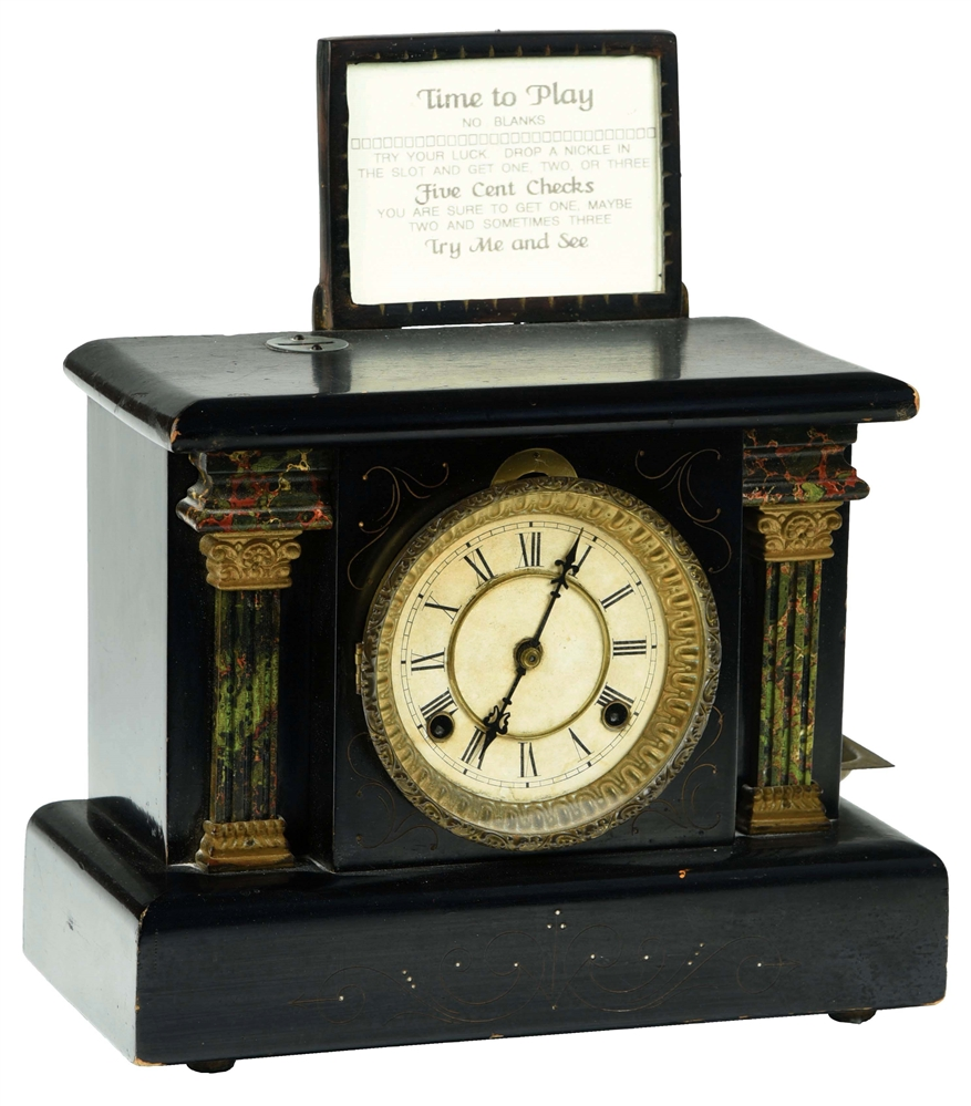 5¢ DIXON SPECIAL STRIKING CLOCK TRADE STIMULATOR.